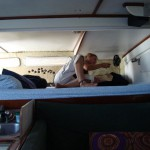 Queensize Bett mit Ventilator - Bocas del Toro - Panama
