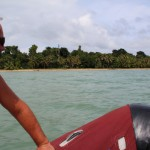 Unterwegs mit dem Beiboot - Bocas del Toro