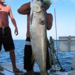 Fischen in Bocas del Toro, aber nur zum Eigenbedarf an Bord