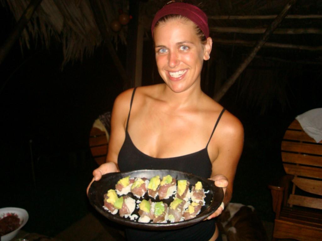 Tunfisch Sushi - Bocas del Toro - Panama