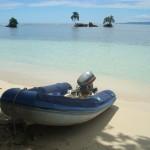 Das Beiboot der Naylamp - Bocas del Toro